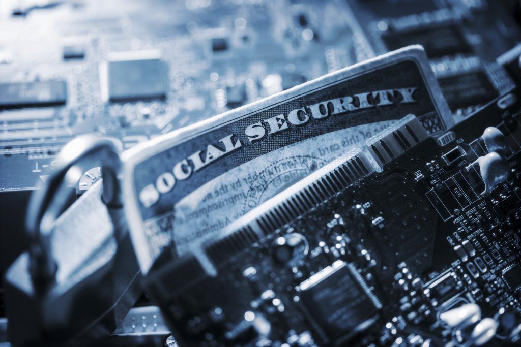 Data Breach - Security - Social Security Card