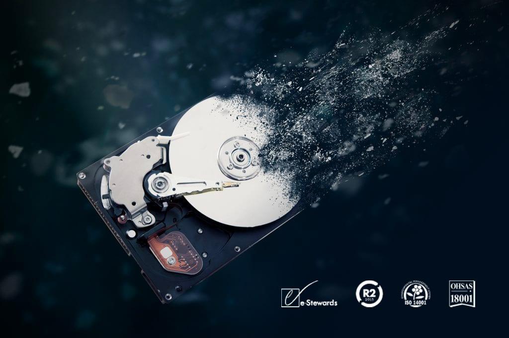 hard drive disposal service