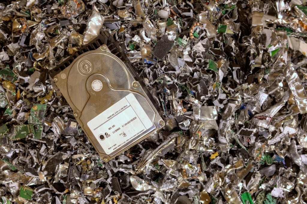 hard drive destruction dallas TX